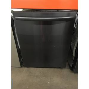 NEW! Insignia Black Stainless Dishwasher, Stainless Tub, 3 Racks, Sanitize Feature, Steam Cleaning, Top Controls, Built-In, 24″ Wide, 1-Year Warranty!