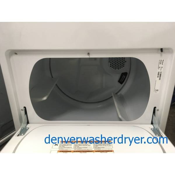Whirlpool HE Dryer, Electric, 29″ Wide, 7.0 Cu.Ft. Capacity, Sensor Drying, Quality Refurbished, 1-Year Warranty!