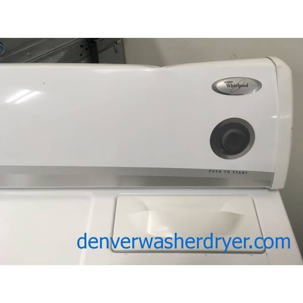 Whirlpool GAS Dryer, Automatic Dry, 29″ Wide, 6.5 Cu.Ft. Capacity, Quality Refurbished, 1-Year Warranty!