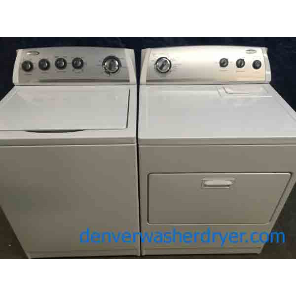 Energy Star Direct-Drive Whirlpool Washing Machine With Matching Electric Dryer, 1-Year Warranty