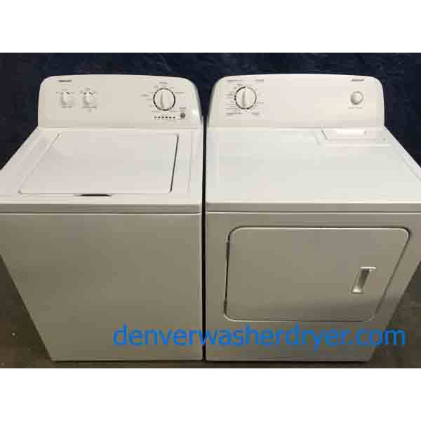Admirable Admiral(Maytag) Washer Dryer Set, Full-Sized, Electric, 1-Year Warranty