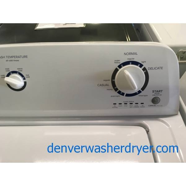 Amana Washer and Dryer Set, Agitator, Electric, 29″ Wide, Quality Refurbished, 1-Year Warranty!