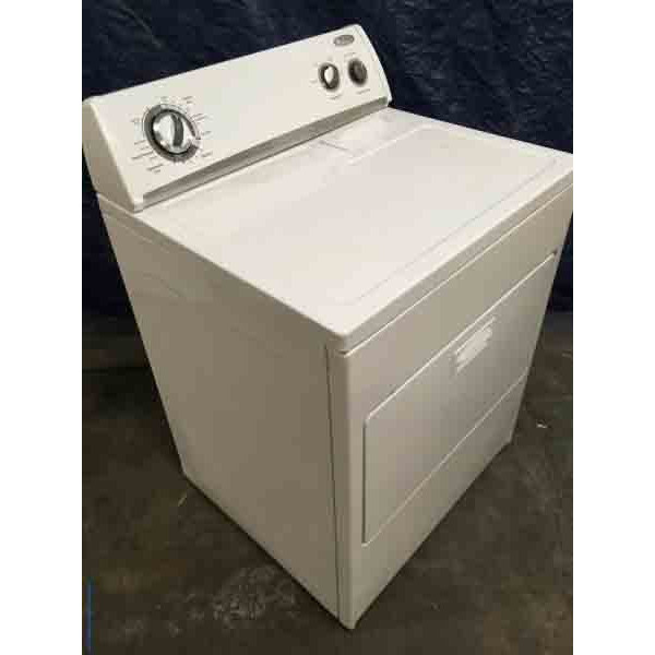 Discounted Whirlpool Dryer, 1-Year Warranty
