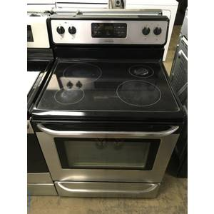 Frigidaire Stainless Range, Glass-Top, Self-Cleaning, 4 Burners, Quality Refurbished, 1-Year Warranty!