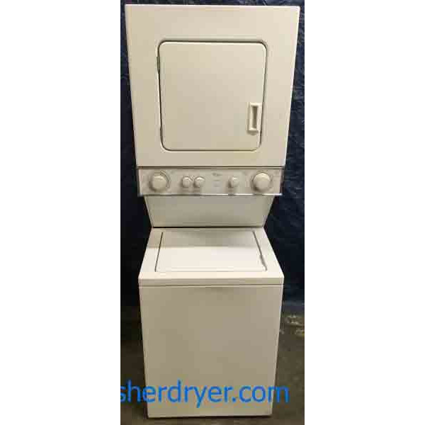 Quality Rebuilt, 24″ Thin Twin Electric Washer/Dryer Combo, w/ Direct Drive,  1-Year Warranty