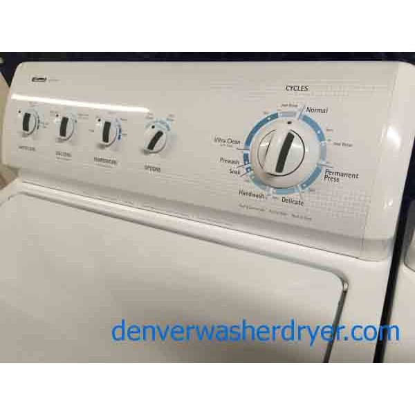 King Sized Kenmore 700 Series Washer Dryer Set w Direct Drive 1