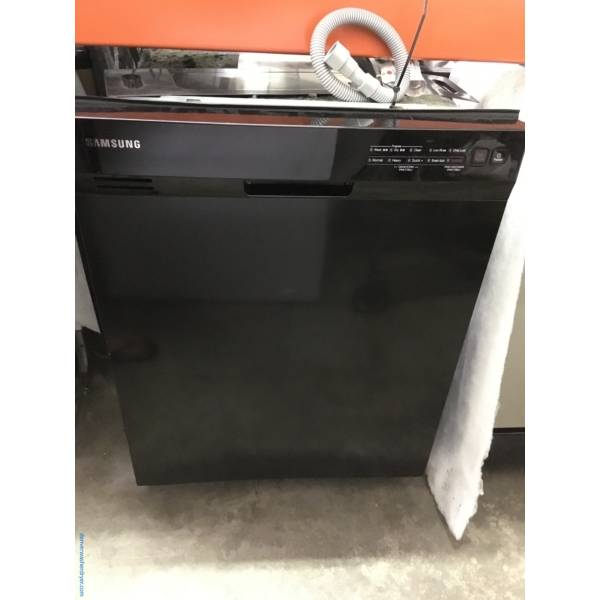 Samsung Black Stainless Dishwasher, SmartAuto, Stainless Tub, 2 Racks, Sanitize, Quality Refurbished, 1-Year Warranty!
