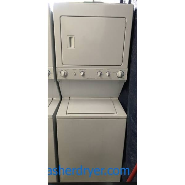 Frigidaire Laundry Center, Agitator, Electric, Heavy-Duty, Extra-Large Capacity, 27″ Wide, Quality Refurbished, 1-Year Warranty!