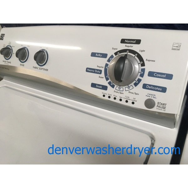 Kenmore W Energy Star Washer Amp Dryer Set 1 Year Warranty