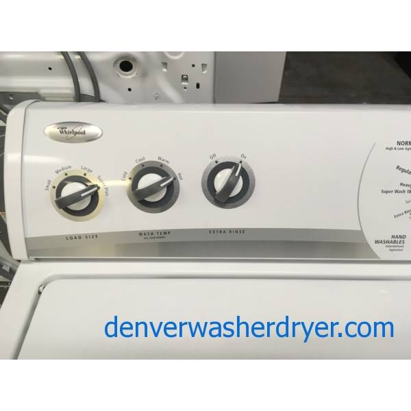Lovely Whirlpool Top-Load Washer, Direct-Drive, Heavy-Duty ...
