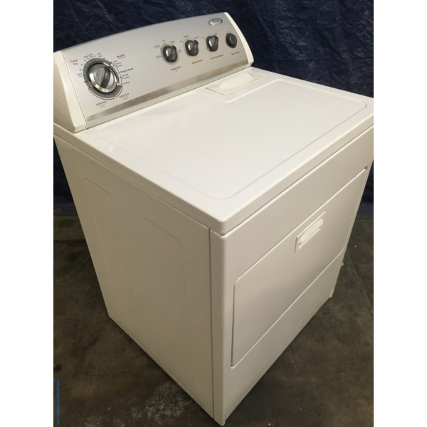 Wonderful Whirlpool Dryer, Electric, Super Capacity, Quality Refurbished, 1-Year Warranty