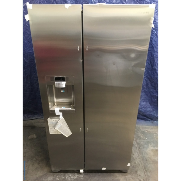 NEW Samsung 36″ Stainless Counter-Depth Side-by-Side Refrigerator, (22.5 Cu. Ft.), 1-Year Warranty