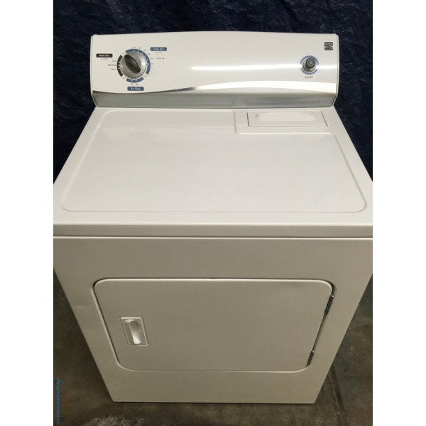 "Wonderful ""Flat-Back"" Kenmore Dryer, Electric, Super Capacity, 1-Year Warranty"