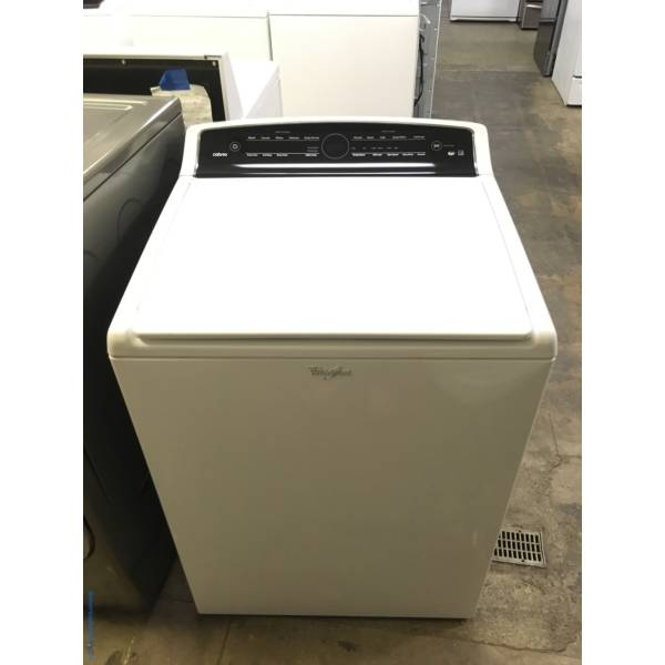 Top-Load Whirlpool Washer, HE, Wash-Plate Style, Energy-Star Rated, Clean Washer Cycle, Quality Refurbished, 1-Year Warranty!