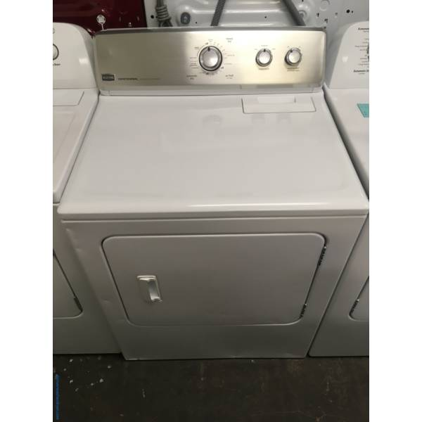 Great Maytag Centennial Dryer, 29″ Wide, Electric, Automatic, Wrinkle Prevent, Quality Refurbished, 1-Year Warranty!