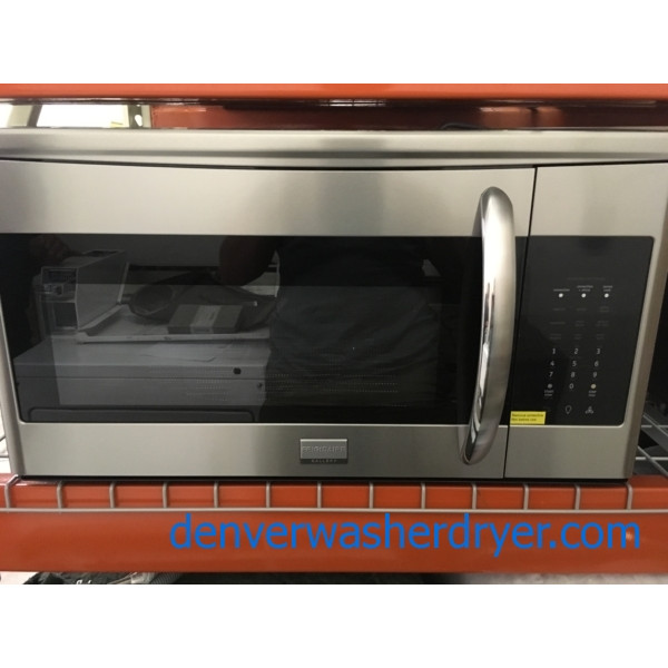 BRAND-NEW 30″ Frigidaire Gallery Over-the-Range Convection Microwave, 1-Year Warranty