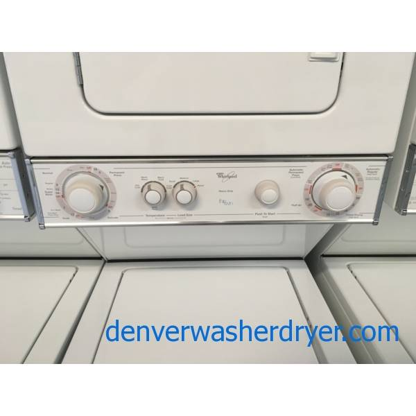 Grrrreat G.E. Unitized Washer & Dryer Quality Refurbished 1-Year Warranty