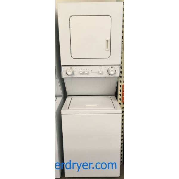 G.E. Unitized Washer & Dryer Quality Refurbished 1-Year Warranty
