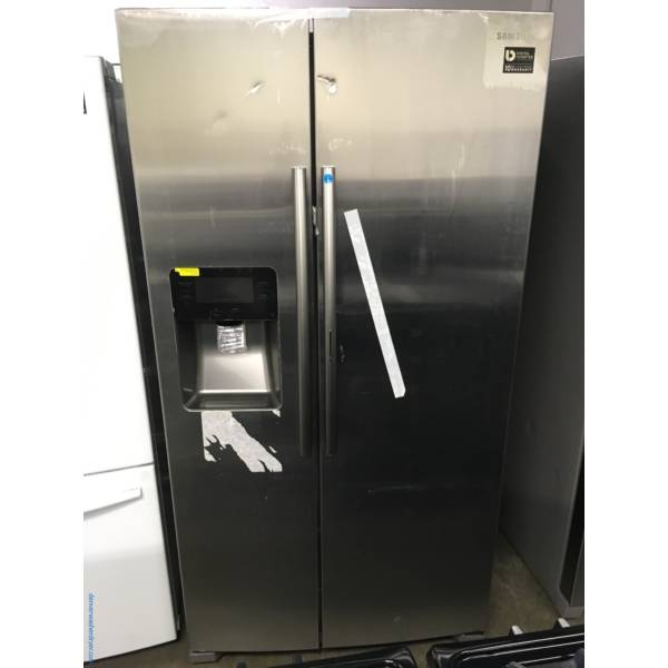 Brand New Samsung Stainless Steel, Side By Side Refrigerator 1-Year Warranty