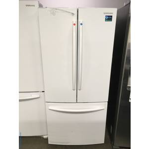 NEW WHITE Scratch & Dent Samsung French Door, Counter Depth Refridgerator 1-Year Warranty