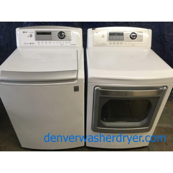 Used Lg He Top Load Direct Drive Energy Star Washer With Waveforce