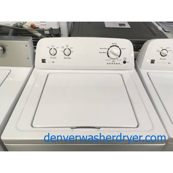 Kenmore Series 100 Washer Quality Refurbished 1-Year Warranty
