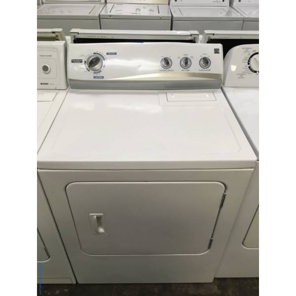 Kenmore Direct Drive Dryer, Quality Refurbished 1-Year Warranty