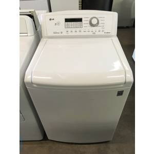 LG Top-Load Washer, 4.5 Cu.Ft. Capacity, 27″ Wide, Direct-Drive, Wash-Plate Style, Quality Refurbished, 1-Year Warranty!