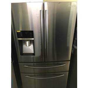 NEW!! SAMSUNG French-Door Refrigerator, Stainless, FlexZone, 28.0 Cu.Ft. Capacity, Energy Saver, 1-Year Warranty!