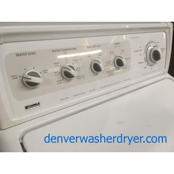 Quality Refurbished King Size Kenmore Elite Direct Drive Top Load Washer 1