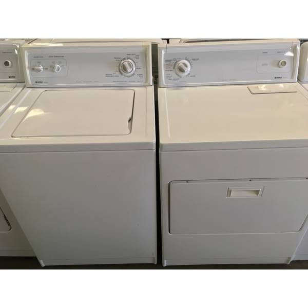 Kenmore 80 Series W/D Set Quality Refurbished 1-Year Warranty
