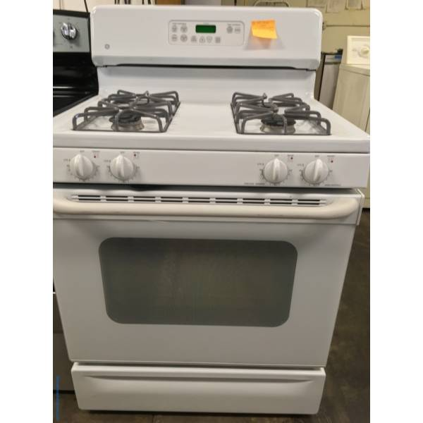 Gorgeous G.E. GAS Range, Quality Refurbished, 1-Year Warranty!