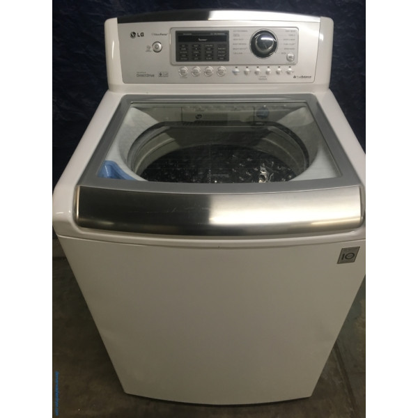 27 Lg Wave Force Series Top Load Direct Drive Washer 1