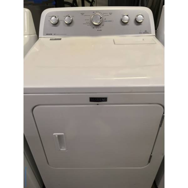 Marvelous Maytag Bravos Steam Dryer, Quality Refurbished 1-Year Warranty