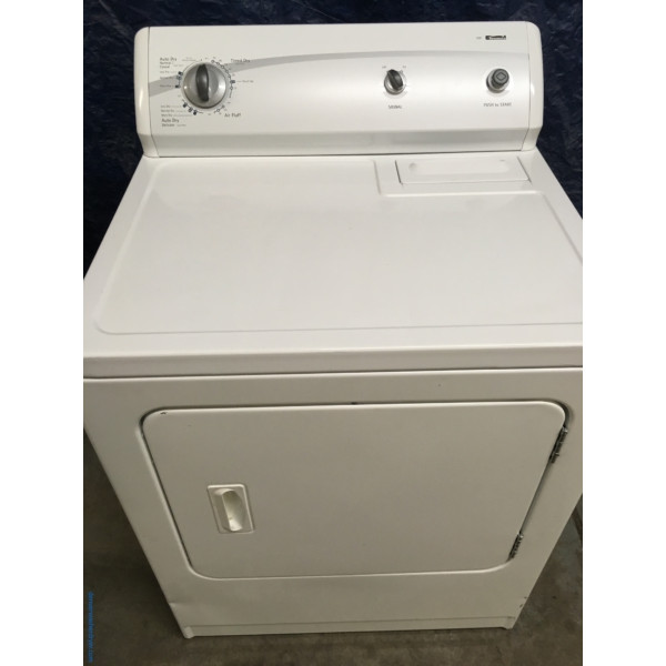 29″ Quality Refurbished Kenmore Super-Capacity Electric Dryer, 1-Year Warranty