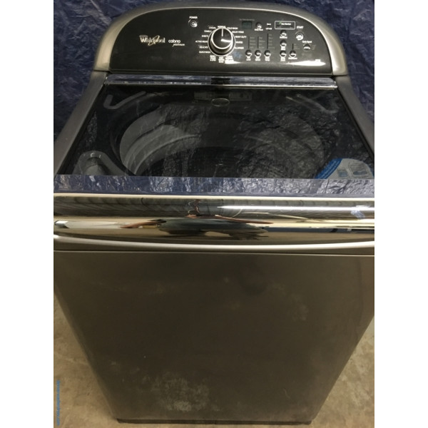 27″ Quality Refurbished HE Whirlpool Cabrio Top-Load Direct-Drive Washer, 1-Year Warranty