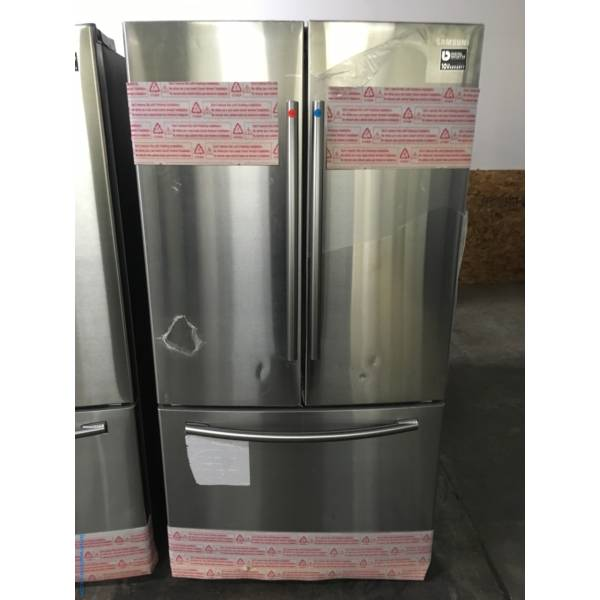 Sweet Samsung Stainless Steel French Door Refrigerator, BRAND NEW 1-Year Warranty