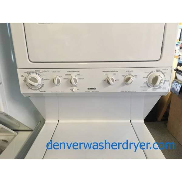 Kenmore 27″ Wide Electric Laundry Center, Quality Refurbished, 1-Year Warranty!