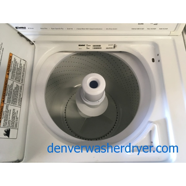 Heavy Duty Kenmore Top Load Washer With Agitator