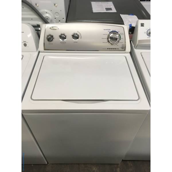Whirlpool Top-Load Washer, Agitator, Extra-Rinse and Fabric Softener Options, 3.4 Cu.Ft. Capacity, Quality Refurbished, 1-Year Warranty!