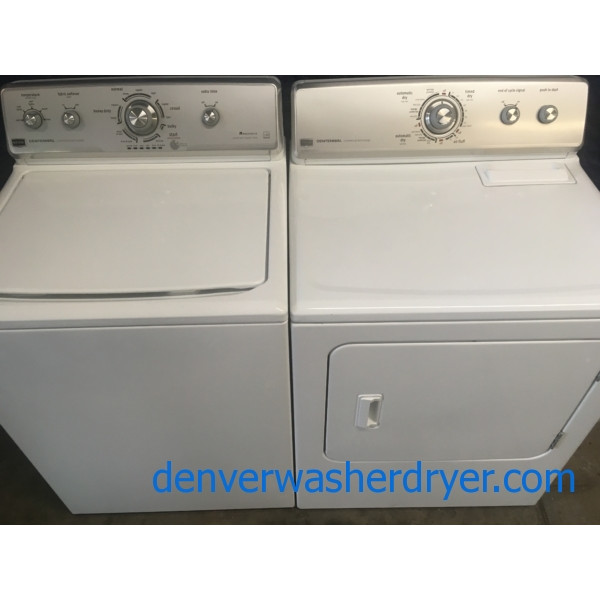 He Maytag Centennial Top Load Washer W Agitator Amp Electric