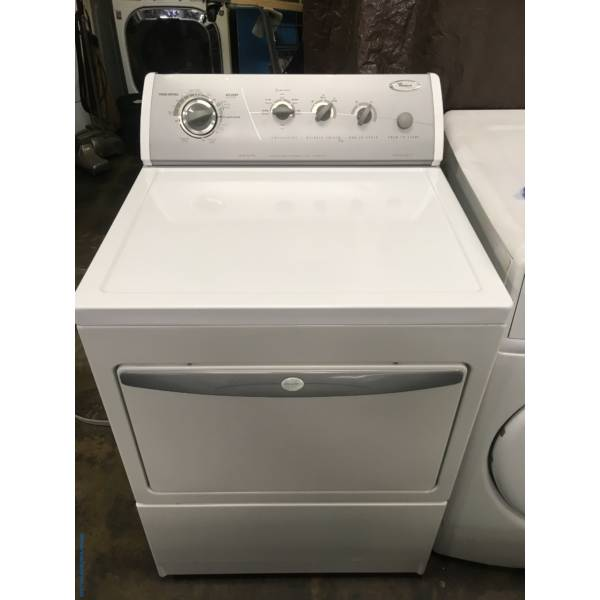 Whirlpool Electric Dryer,Quality Refurbished, 1-Year Warranty