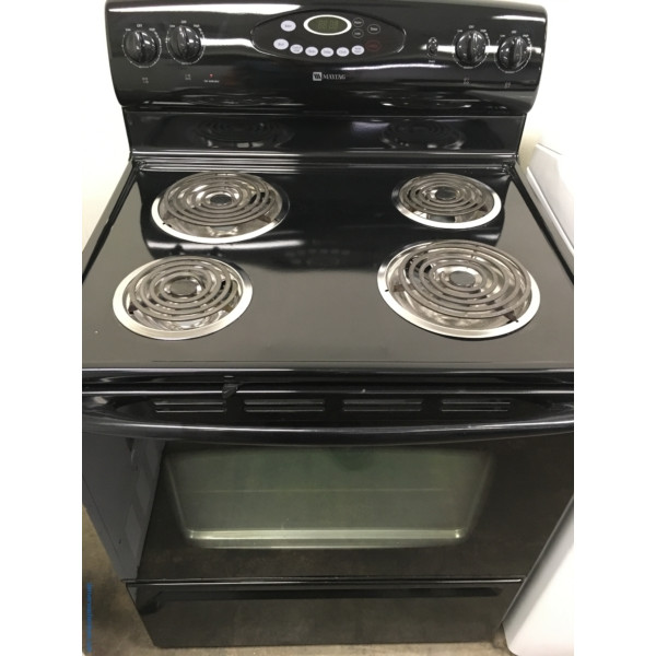Maytag 30″ Free-Standing Electric Range, 1-Year Warranty