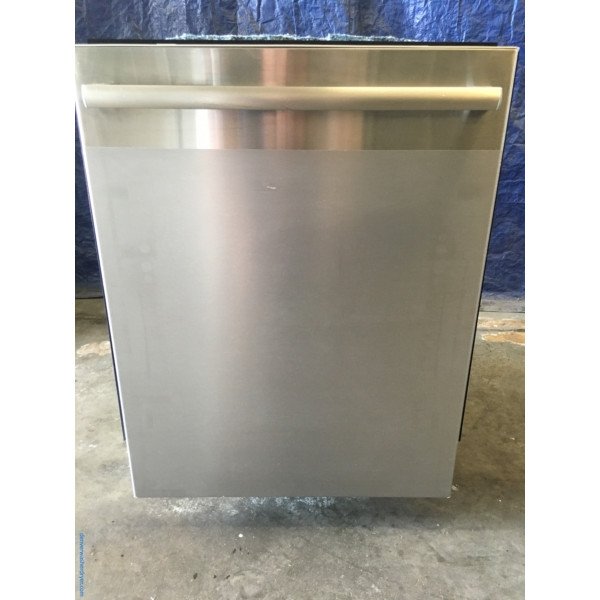 BRAND-NEW 24″ Stainless Bosch 500-Series Built-In Dishwasher w/Stainless Tall Tub, 1-Year Warranty
