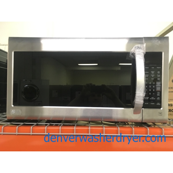 BRAND-NEW LG 30″ Stainless (2.0 Cu. Ft.) Over-the-Range Microwave w/Sensor-Cook, 1-Year Warranty