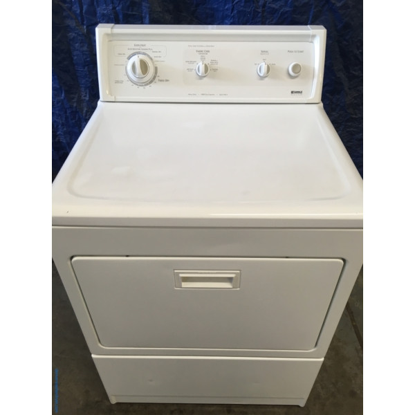 Quality Refurbished 27″ Kenmore *GAS* Dryer, 1-Year Warranty