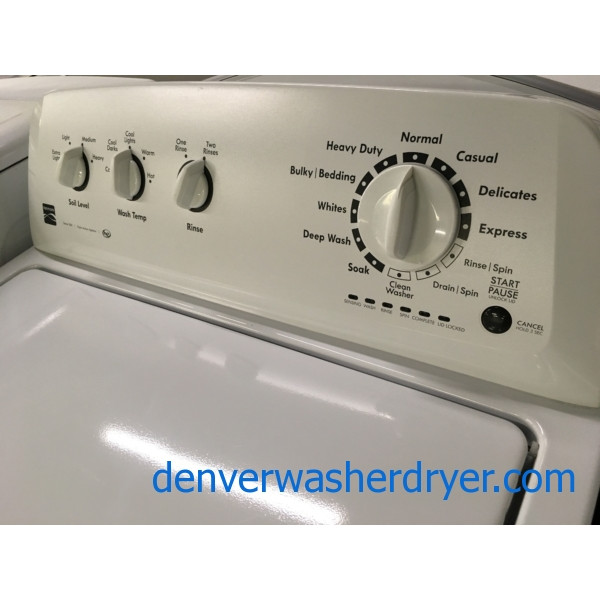 Quality Refurbished He Kenmore 200 Series Top Load Washer