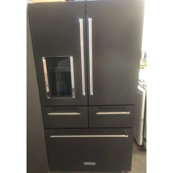 Brand New 36 Quot Black Stainless Kitchenaid 5 Door French
