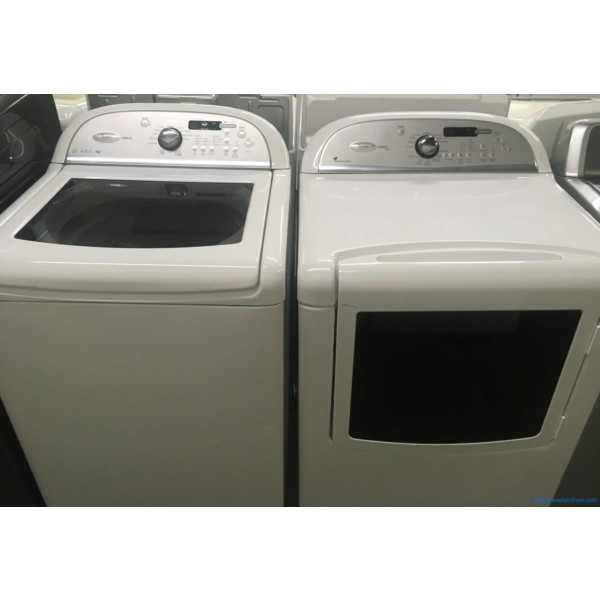 He 27 Quot Whirlpool Cabrio Top Load Washer Amp Electric Steam