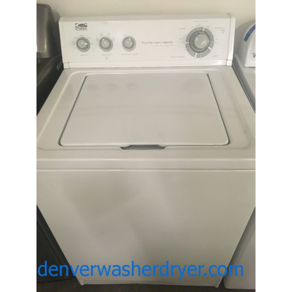 Estate Whirlpool Top Load 3 2 Cu Ft Washer 1 Year